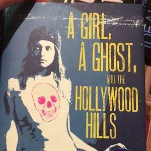 A girl a ghost in the Hollywood hills by Lizabeth